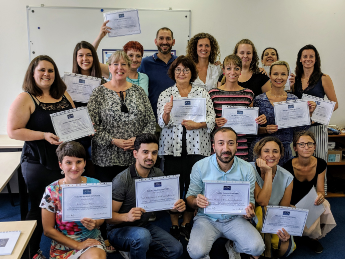 Prague Regional Training Course, August 2018