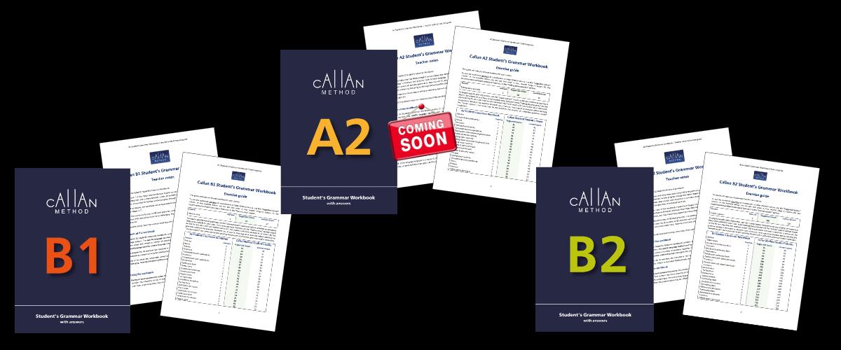 exercise guides Callan Student's Grammar Workbooks